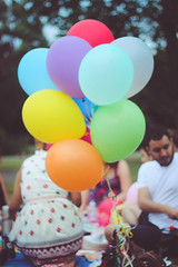 Balloons. (sarahbrust.) Tags: birthday park uk friends party england london balloons colourful regents