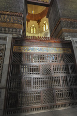 Islamic art calligraphy and woodwork - The Mausoleum of Sultan Qalawun