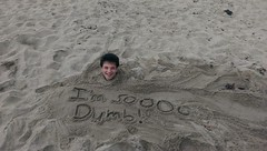 I'm So Dumb 1 (James Whiteman) Tags: beach sand buried alive