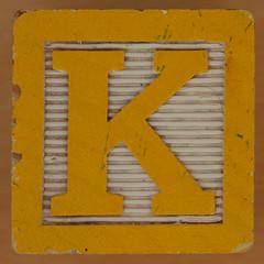 Brick letter K (Leo Reynolds) Tags: k letter kkk oneletter letterset grouponeletter xsquarex xleol30x xxx2014xxx