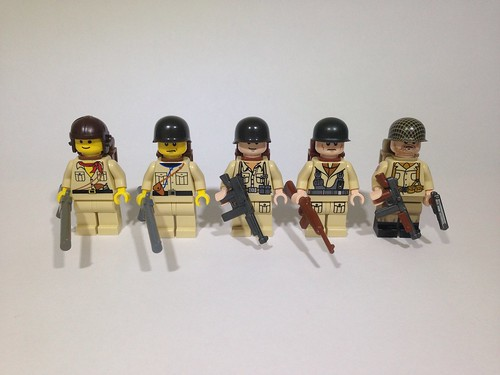 WW2 US fig Evolution