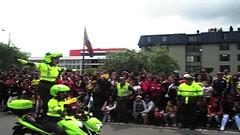 Mujeres bellas desfile y caravana 20 de julio 2014 (johnYusunguaira) Tags: colombia bogot garota meninas policia motos fiestaspatrias 20dejulio mujerescolombianas mujereslatinas  desfile20dejulio desfilemilitar2014