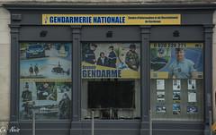 La Gendarmerie Recrute (Ch.Neis) Tags: street city france town reflex nikon 33 cit bordeaux route stadt nikkor dslr ville afs dx aquitaine gironde strase 18105mm d5200 photographedandcopyrightbychristophneis