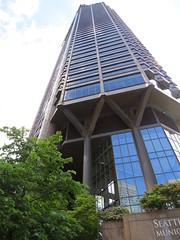 Seattle Municipal Tower, Seattle, WA (KevinB 87) Tags: seattle seattlemunicipaltower downtown citycenter seattlewa