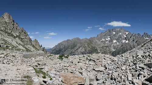 Monte Argentera dai laghi di Fremamorta