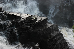 Of Stone and Water (Sean O'Connor Photography) Tags: ontario canada nature water rock stone canon waterfall thunderbay kakabeka