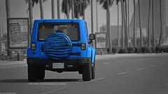Blue Zebra (dr.7sn Photography) Tags: blue sahara jeep hydro zebra custom wrangler rubicon 2014