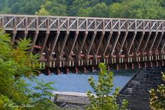 Roebling Aqueduct (grayhare2014) Tags: wood bridge newyork stone suspension pennsylvania cables brooklynbridge delwareriver johnaroebling sonyalpha dandhcanal martydelikat