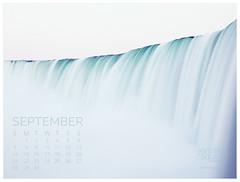 September 2014 Calendar (Jennifer Squires) Tags: niagarafalls landscapephotography desktoptheme desktopcalendar wwwjennifersquiresca jennifersquiresproductions jennifersquiresross september2014