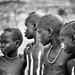Interested Mursi Boys, Ethiopia
