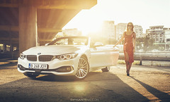 BMW 4Series (CiprianMihai) Tags: auto bridge girls light girl car fashion canon eos photo automobile low automotive scene romania elena bmw bbs e30 stance cabriolet 6d elinchrom worldcars lowsociety