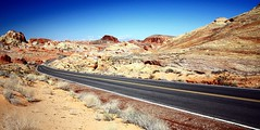 20090211   Valley of Fire State Park, Nevada R001 (Gary Koutsoubis) Tags: road valleyoffire nevada 2009 valleyoffirestatepark