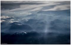 (.Ian Mylam.) Tags: cloud mist mountain mountains clouds landscape austria altitude aviation flight peak aerial ridge summit airborne airtravel aut