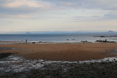 2014 - 7.9.14 - Anstruther (36) (marie137) Tags: sunset sky lighthouse beach windmill birds animals st clouds landscape town sand harbour fife route coastal land fields coastline largo anstruther elie monans cuntryside marie137
