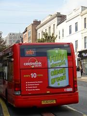trentbarton/nottingham city council optare solo EV new rear ad - 997 - YJ12 GVE (nottm87) Tags: city nottingham electric angel centre row ev solo council 997 centrelink optare yj12gve