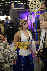 Cosplays at the 5th day of Japan Expo 15eme/2014 , Paris, France: Final Fantasy X Yuna (SpirosK photography) Tags: portrait paris france anime japanese cosplay manga culture convention finalfantasy yuna ffx finalfantasyx parcdesexpositions ff10 costumeplay japanexpo γαλλία παρίσι finalfantasyseries