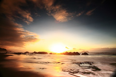 () Tags: sea cloud beach rock sunrise canon landscape coast sand coastline northeast       waiao   1635mmf28l 1dx