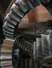 Holgate Windmill, September 2014 (22) (nican45) Tags: york slr mill windmill canon yorkshire sigma machinery dslr cogs 1770 gears foodfestival bakeoff 600d 1770mm stonefloor hwps holgatewindmill eos600d 1770mmf284dcmacro stonesfloor