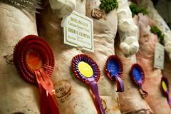prize winning lamb carcass