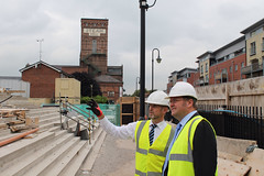 "Stephen Mosley MP visits new Waitrose superstore in Boughton, Chester • <a style=""font-size:0.8em;"" href=""http://www.flickr.com/photos/51035458@N07/15250996225/"" target=""_blank"">View on Flickr</a>"