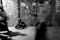 On streets (㋡ Aziz) Tags: life street new travel shadow bw blur night blackwhite blurry lowlight action streetphotography move fujifilm 1855 fujinon f28 18mm xpro1