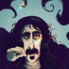 Frank Zappa (WoMooMoW) Tags: illustration frank caricature zappa moniqueingenhütt