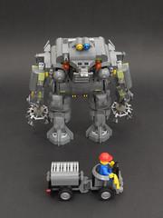 14 (PigletCiamek) Tags: robot lego mech