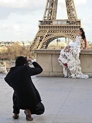 Honeymoon in Paris (pivapao's citylife flavors) Tags: paris france trocadero architecture wedding girl beauties photographer