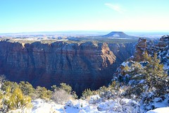 Grand Canyon 128 (Krasivaya Liza) Tags: grandcanyon grand canyon national park canyons nature natural wonder az arizona holiday christmas 2016 snowy winter cliffs cliffside edgeofcliff