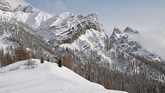 Pala group (Dolomites) (ab.130722jvkz) Tags: italy trentino alps easternalps dolomites palagroup winter mountains snowfall