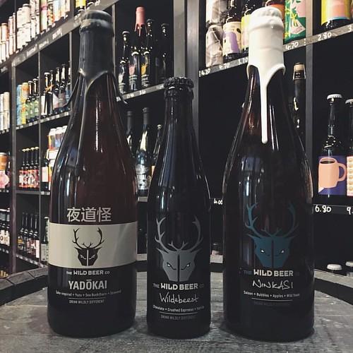 Yadokai, Ninkasi & Wildebeest make a return from @WildBeerCo #craftbeer #beer #brewcavern #bottleshop #Nottingham