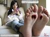 Overprotective Sister (Red Neptune) Tags: giantess gts feet crush stomp shrunkenman asian sm shrunkenmen soles