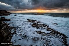Autumn sea (jongsoolee5610) Tags: seascape maroubra sydney australia autumnsea sea wave sunrise sydneysunrise sydneyseascape ngc soe