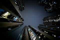 Many people in Causeway Bay, Hong Kong Island, SAR of China (monsieur I) Tags: buildings causewaybay china cityscape dailylife density hongkong housings monsieuri night nightlife observe skyscrapers urban