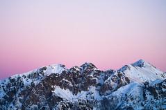 Abruzzo's Sunset (matteosciumbata) Tags: monteamaro sunset mountain pink omdm5 tramonto rosa