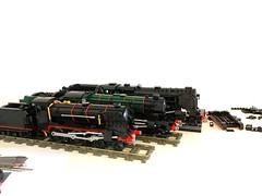 Sorry we're full (Britishbricks) Tags: 440 262 2100 moc train wips wip lego schoolclass gresley lner br 9f 100