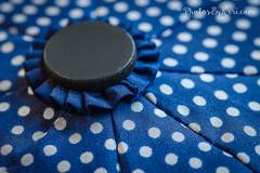 Macro Monday: Umbrella Textiles (KAM918) Tags: cloth textile happy macro monday hmm umbrella abstract miscellaneous details nikon d610 blue white polka dots macromonday clothtextile fabric design