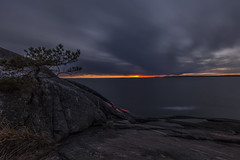 Last Light (Petri Hollander) Tags: sunset porkkalanniemi kirkkonummi finland