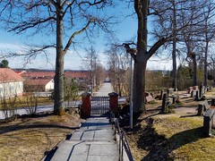 Halikko cemetery (m.pertti) Tags: landscape halikko salo finland cemetery street