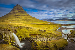 Iconic Iceland (Sizun Eye) Tags: kirkjufell mountain longexposure poselongue waterfall cascade leefilters gndfilters iceland islande nordic northerneurope north europe europedunord scandinavia sea atlantic river iconic landmark nature paysage landscape sizuneye nikond750 nikon d750 tamron2470mmf28 tamron 2470mm gettyimages