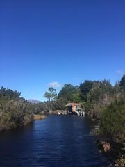 Dock. Melaleuca. Port Davey, Tasmania.
