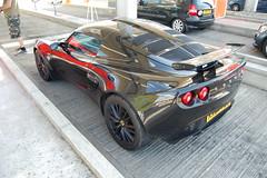 Lotus Exige S (D's Carspotting) Tags: lotus exige s france coquelles calais black 20100613 kx07fbg le mans 2010 lm10 lm2010