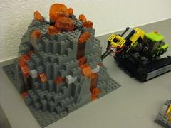 60124 - Volcano Exploration Base (nissanskyline) Tags: lego city 60124 volcano exploration base
