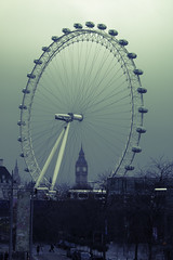 Cold Wintery London (Coolcats100) Tags: cold wintery london coolcats100 canon 70d sigma feb 2017 eye big ben wheel car people