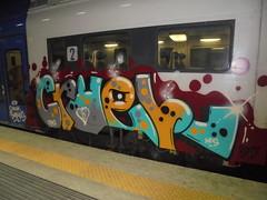 crack babies (en-ri) Tags: cruel nfs ltns grigio giallo nero azzurro train torino graffiti writing
