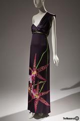Alexander McQueen Evening Dress (Museum at FIT) Tags: 20161041 alexandermcqueen dress england fall2004 themuesumatfit themuseumatfit forceofnature fit newyorkcity fashion