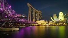 Singapore Landmarks (inferno10) Tags: sightseeing building bridge travel landmark architecture singapore tourist asia tourism pacific international