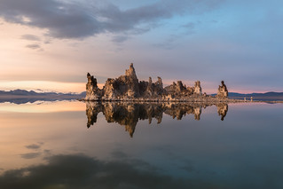 Tufa Reflections on Mono Lake