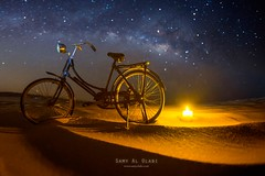 Dust off your Dreams & Make it Happen (samy olabi) Tags: ifttt 500px travel astrophotography milky way uae desert abu dhabi abstract long exposure night nightscape photography stars light shadows galaxy