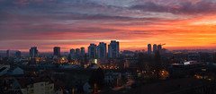 the dawn of spring (cherryspicks (on/off)) Tags: zagreb croatia sunrise travel skyline buildings architecture spring clouds sky panorama dawn urbanscenery urban urbanlandscape rooftop